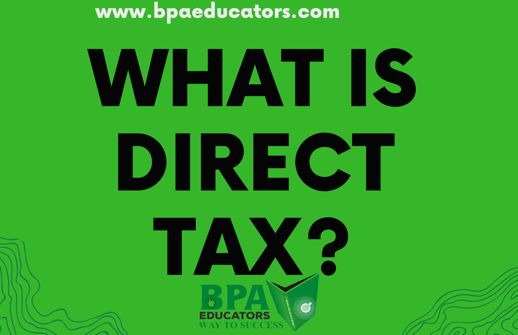 what is direct tax