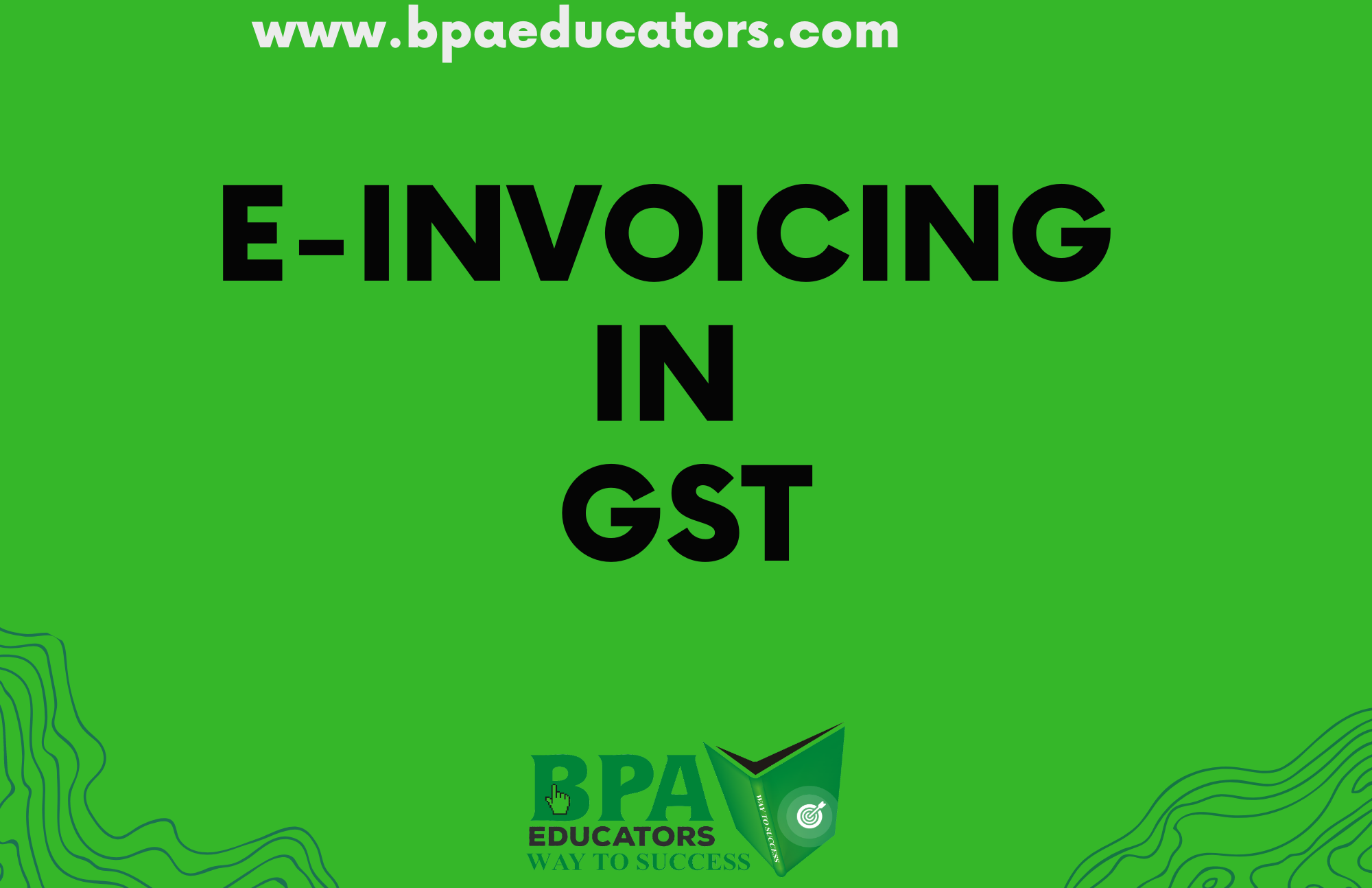 E-Invoicing in GST