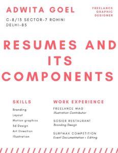 Bright Pink Modern Resume (1)